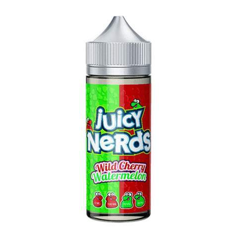 Juicy Nerds, Cherry, Wild Cherry, Watermelon, E-liquid, 50ml