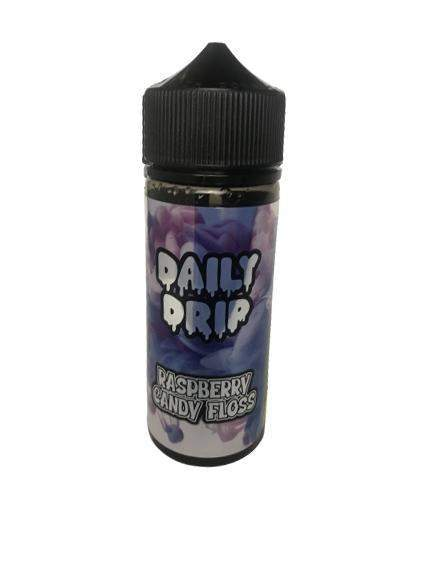 Daily Drip - Raspberry Candy Floss 100ml E-Liquid