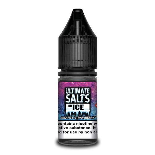 Ultimate Salts Grape and Strawberry On Ice 10mg