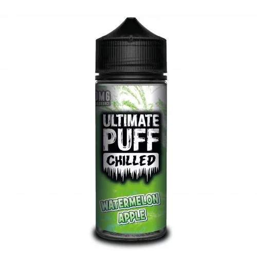 Ultimate Puff Watermelon and Apple Chilled 100ml E-Liquid