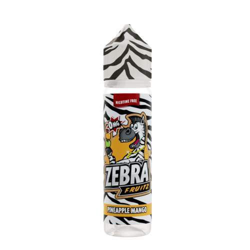 Zebra Fruitz - Pineapple Mango 50ml E-Liquid