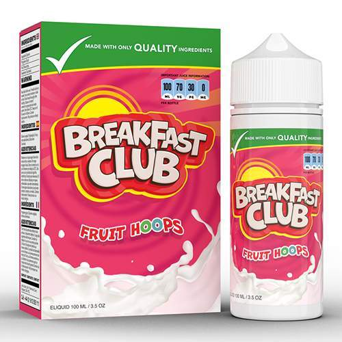 Breakfast Club Fruit Hoops – 100ml E-Liquid