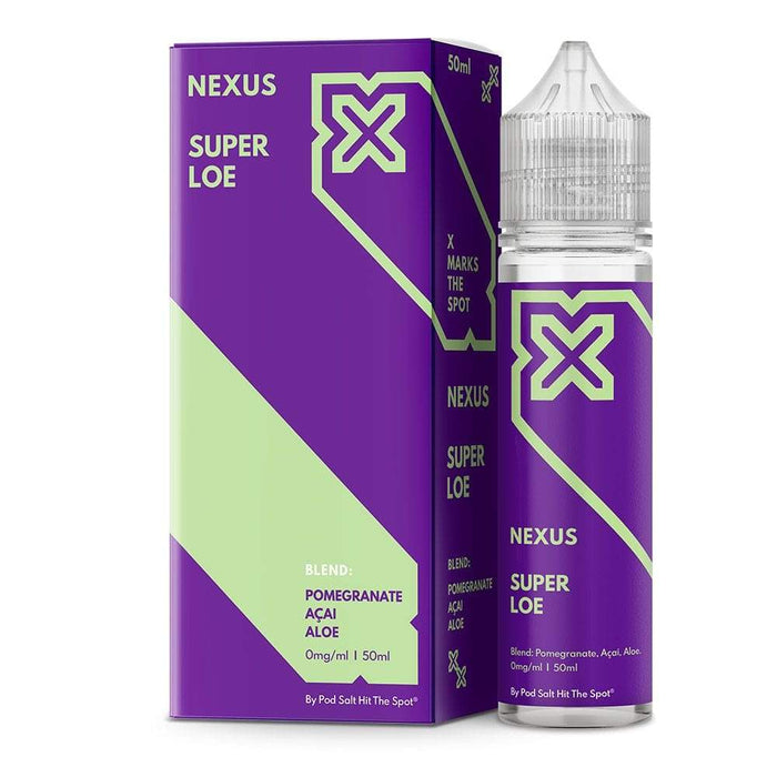 Nexus E Liquid – Super Loe – 50ml