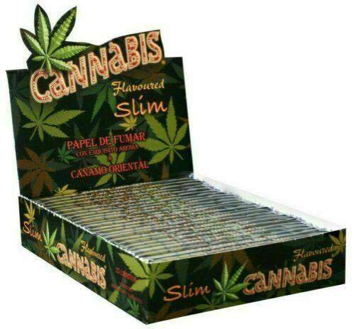 CANNABIS Flavoured Rolling Papers