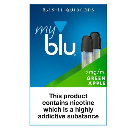 myblu™ Liquidpod Green Apple Flavour 9mg/ml