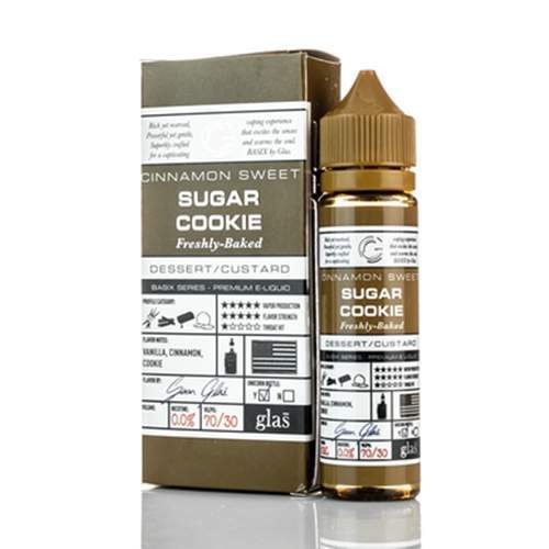 Glas Sugar Cookie - 50ml E-Liqiud