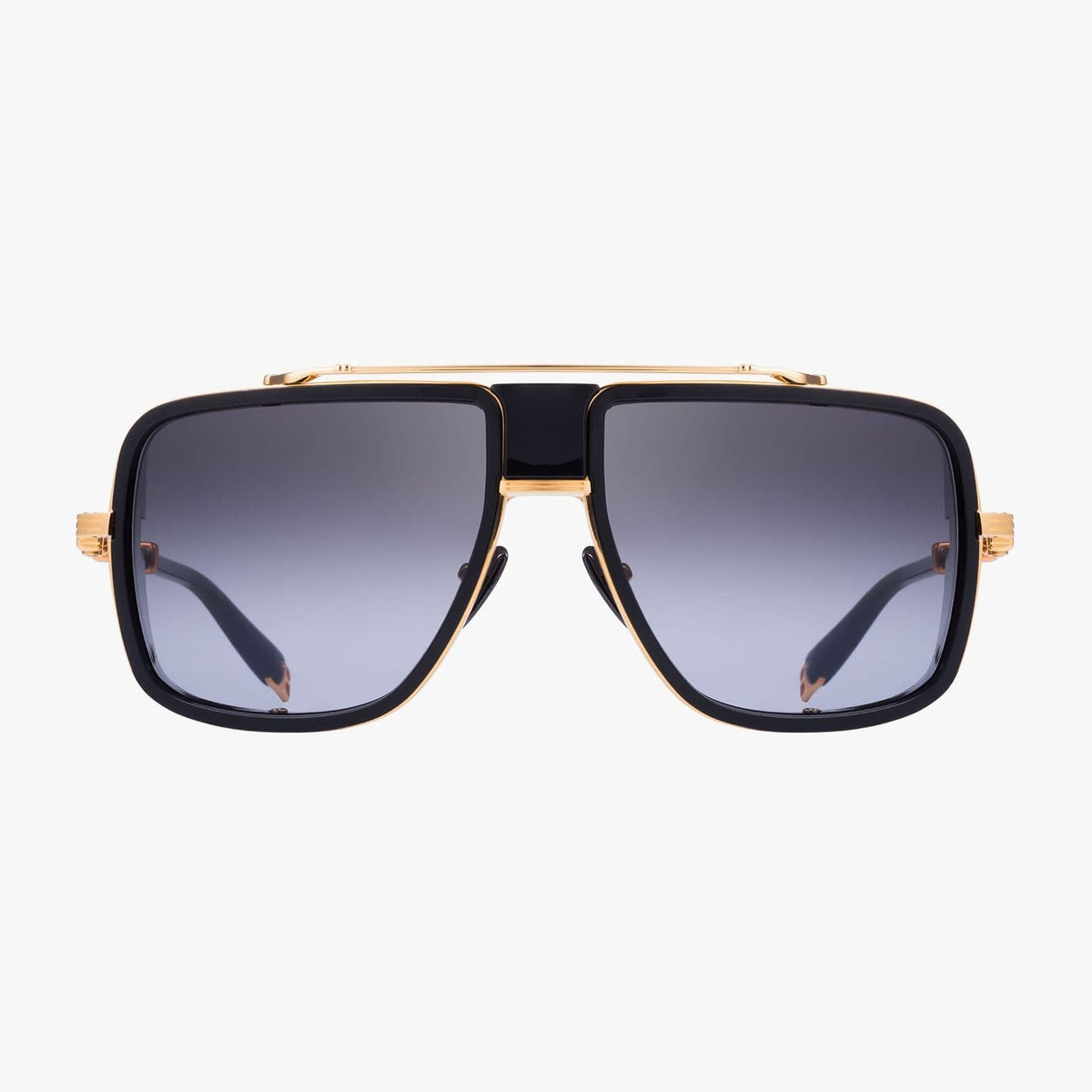 Balmain Unisex Gold-Tone And Black Metal O.R. Sunglasses