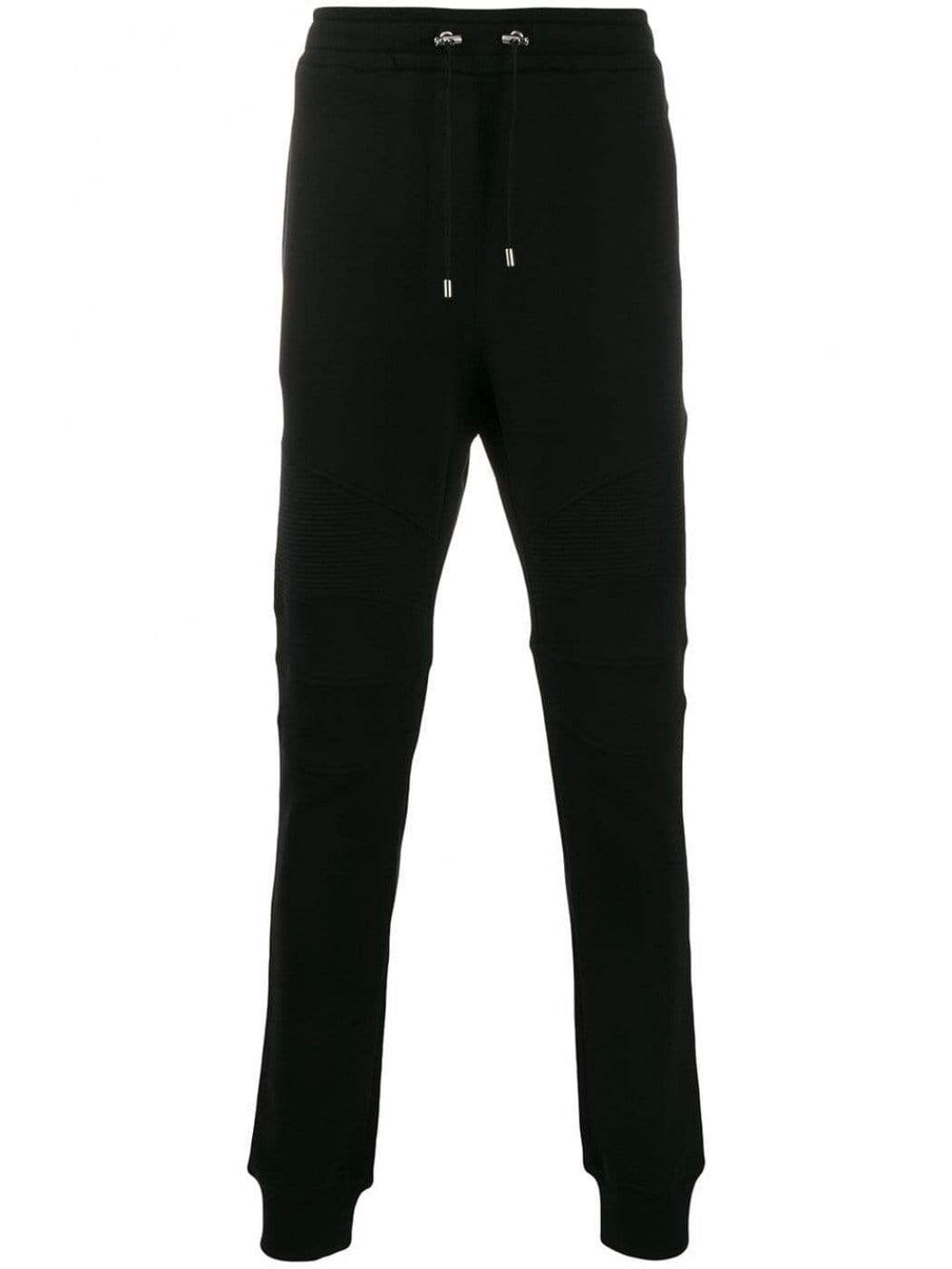 Balmain Gents Black Logo Pocket Joggers