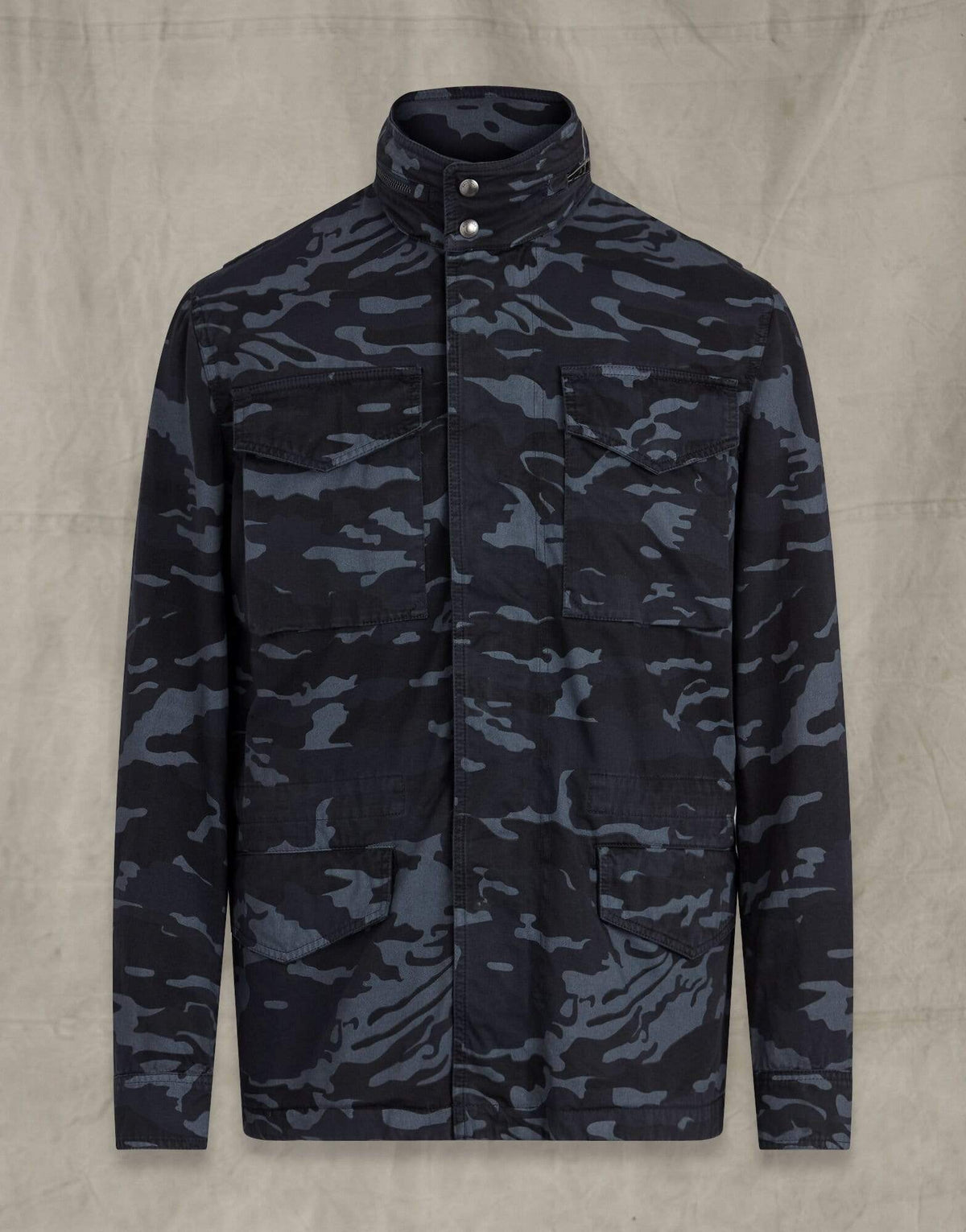 Belstaff Fieldwood Camo Jacket in Dark Ink