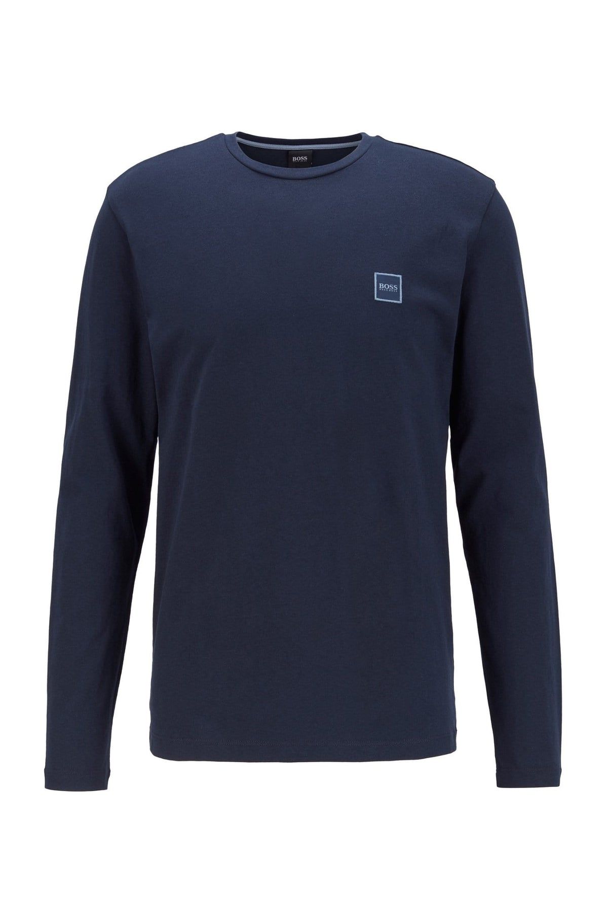 BOSS Long Sleeve Navy T-shirt_Tacks