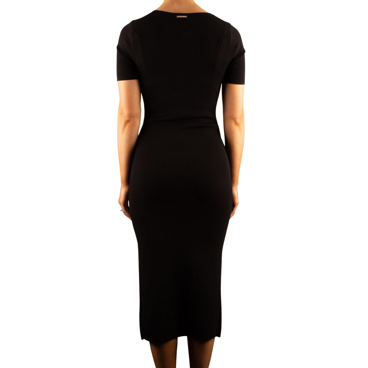Michael Kors Snap Button Midi Dress