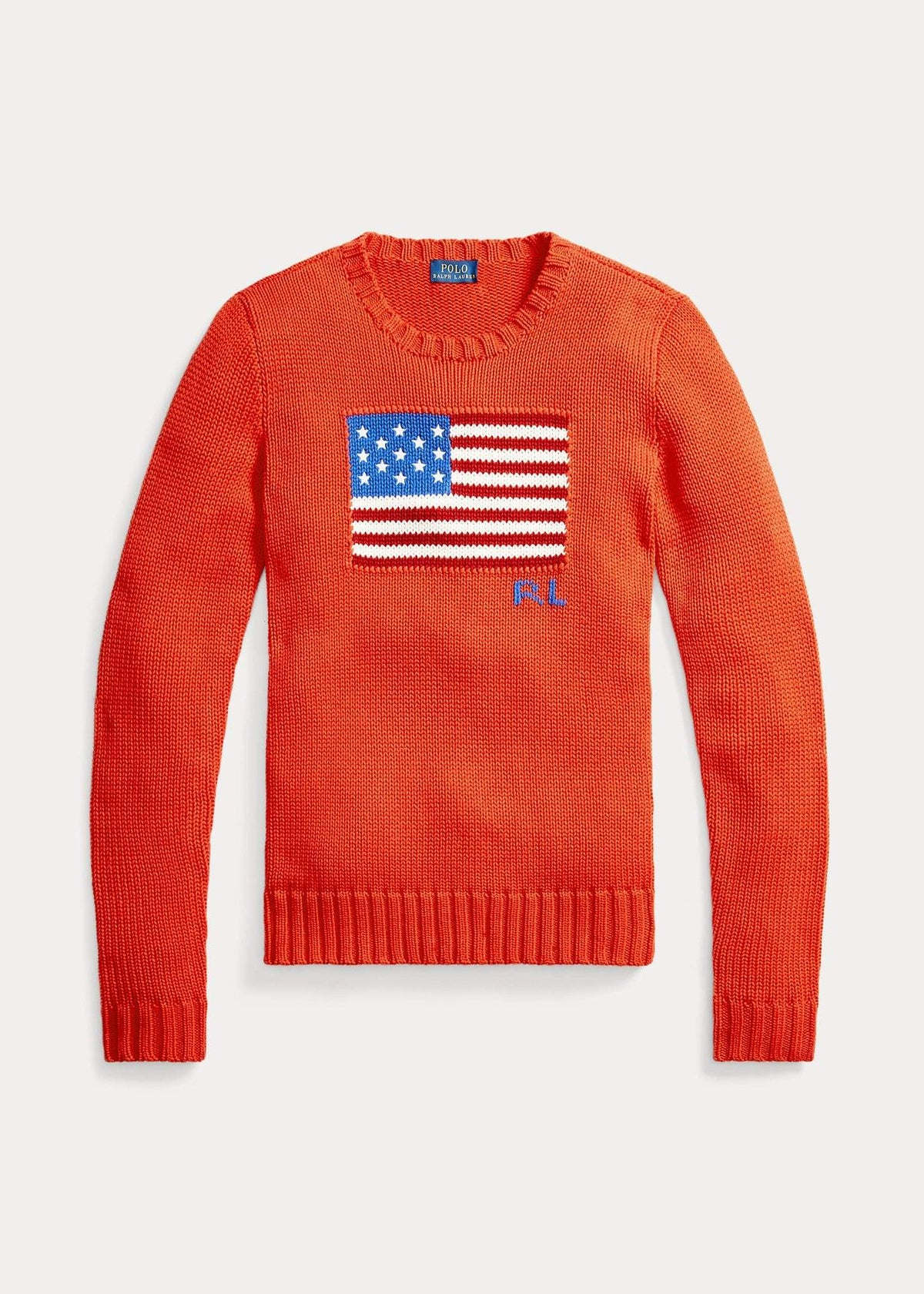 Ralph Lauren Ladies Cotton Flag Jumper