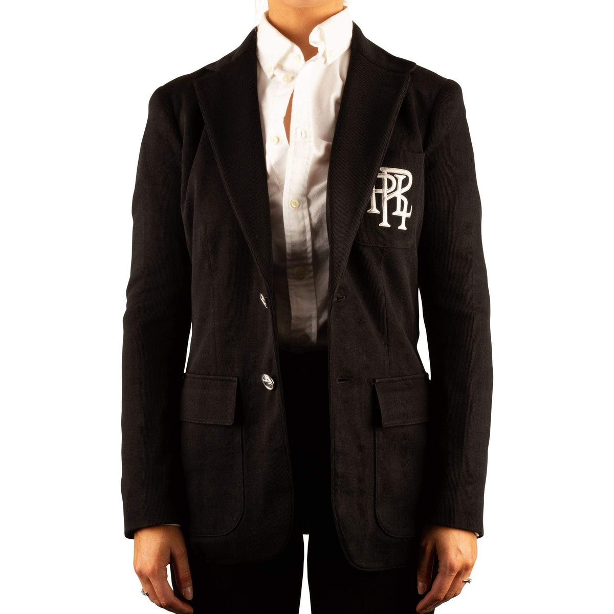 Ralph Lauren Ladies Cotton Knit Blazer