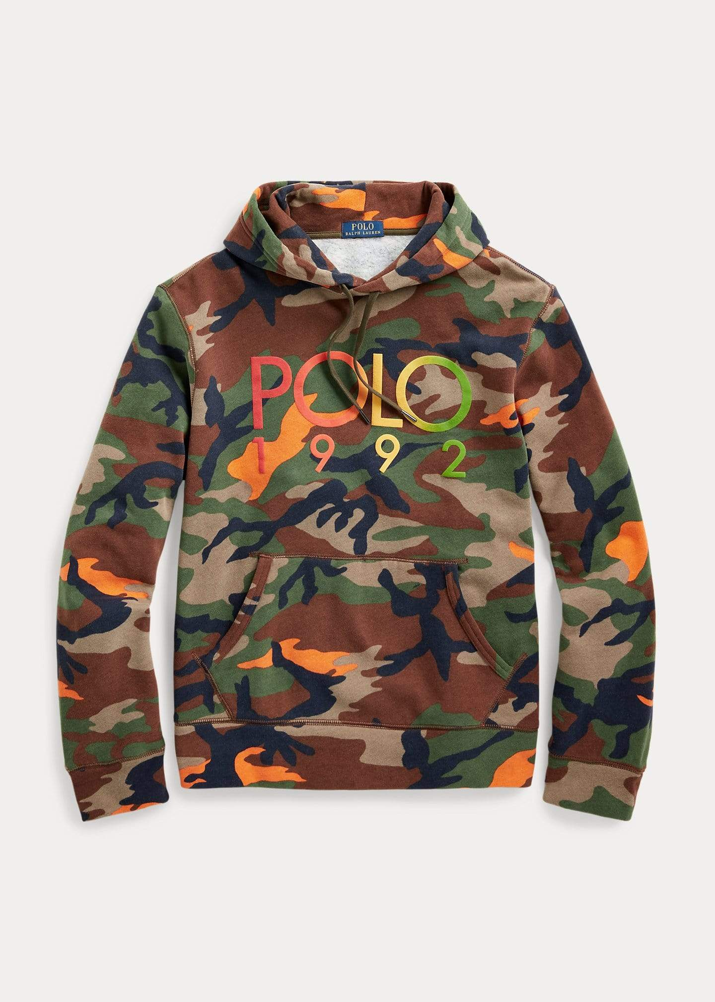 Ralph Lauren Gents Polo 1992 Camo Fleece Hoodie