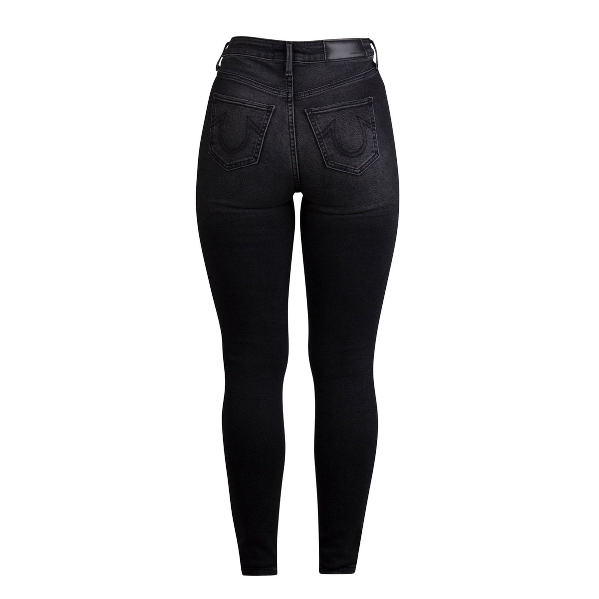 True Religion Caia Ultra High Rise Hypster Skinny Jeans
