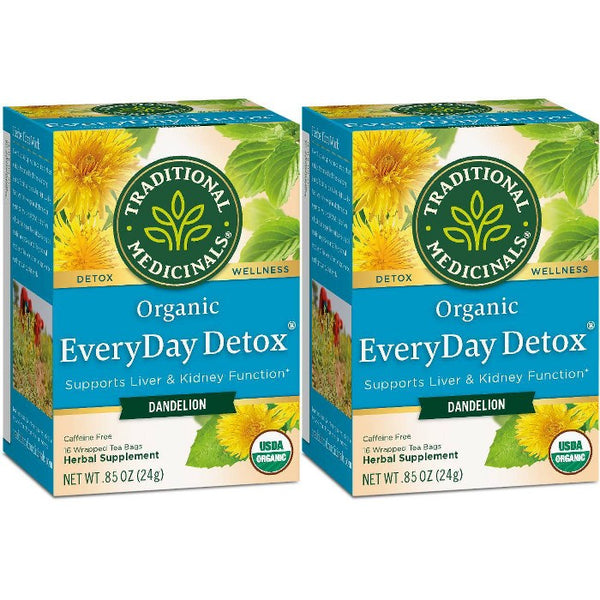 Traditional Medicinals EveryDay Detox Dandelion Organic Tea - 32ct