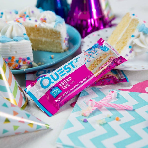 Quest Protein Bar - Birthday Cake