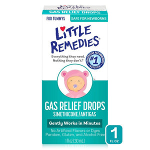 Little Remedies Gas Relief Drops, Natural Berry Flavor, Safe For Newborns - 1 fl oz