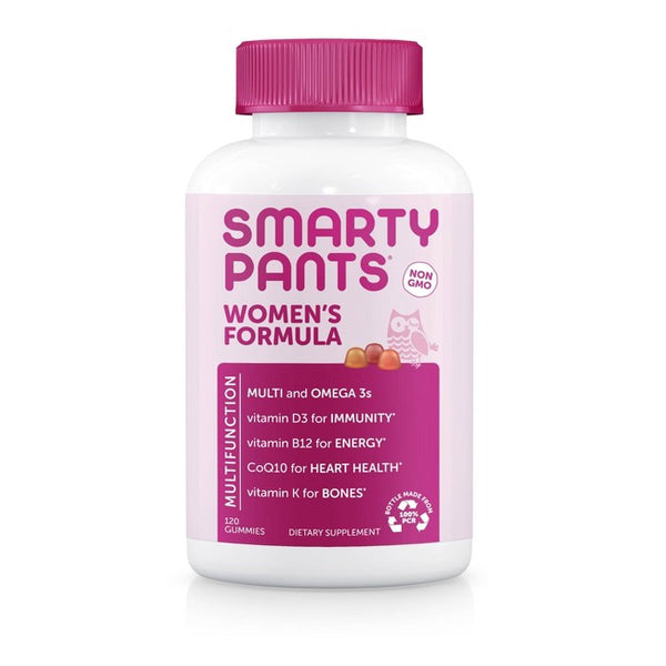 SmartyPants Women's Formula Multivitamin Gummies - 120ct