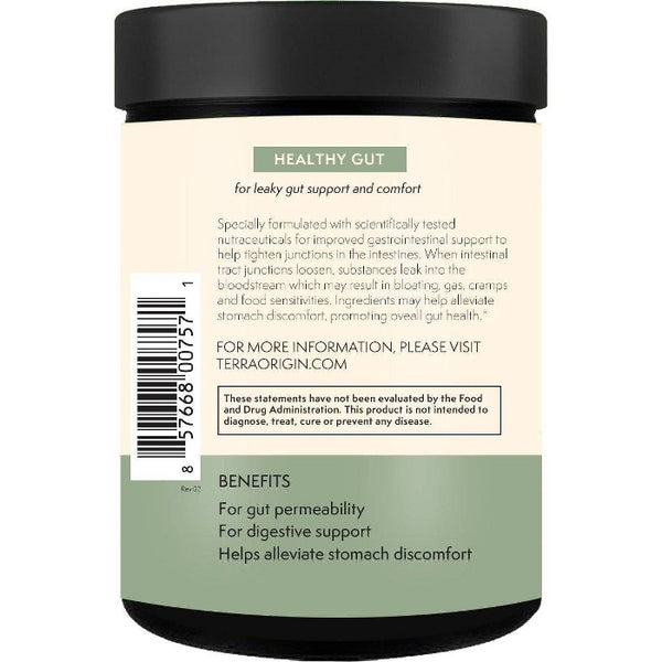 Terra Origin Healthy Gut Powder Mint - 7.83oz