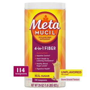Metamucil Psyllium Fiber Supplement Powder - Original Coarse - 29oz