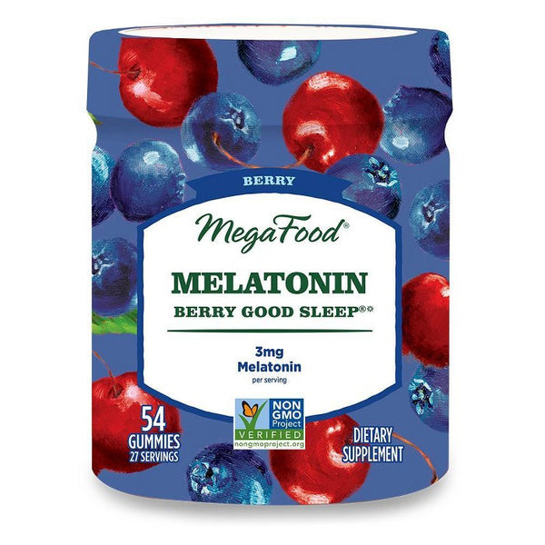 MegaFood Melatonin Berry Good Sleep Gummies - Berry - 54ct