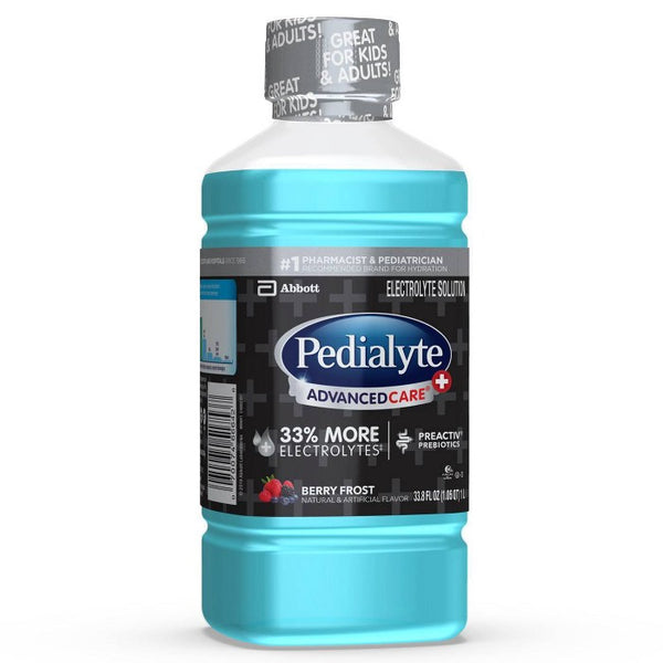 Pedialyte AdvancedCare Plus Electrolyte Solution - Berry Frost - 33.8 fl oz