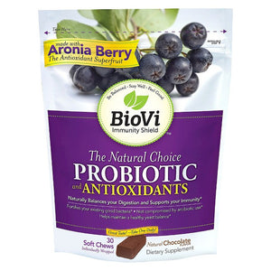 BioVi Probiotic Soft Chews - Chocolate Flavor - 30ct