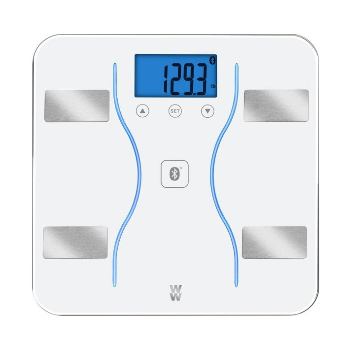 Bluetooth Body Analysis Scale White - Weight Watchers