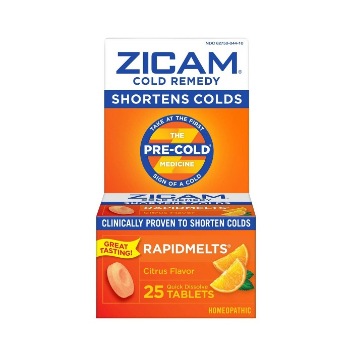 Zicam Quick Dissolve Tablets - Citrus - 25ct