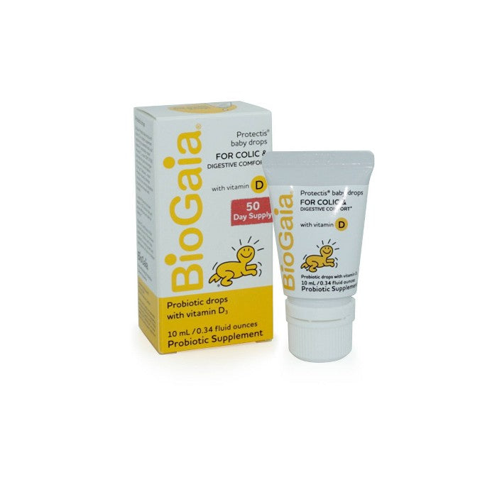 BioGaia Protectis Probiotic Baby Drops with Vitamin D3 - 0.34 fl oz