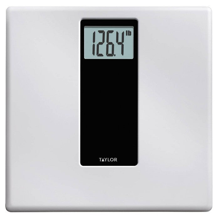 Digital Bathroom Scale White/Black - Taylor