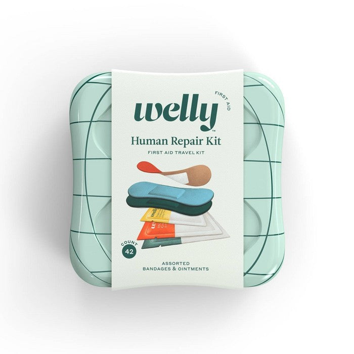 Welly Human Repair Kit First Aid Travel Kit - 42ct