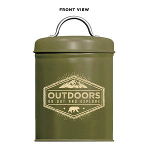 Adventure is Out There Outdoor Survival Kit - Army Green