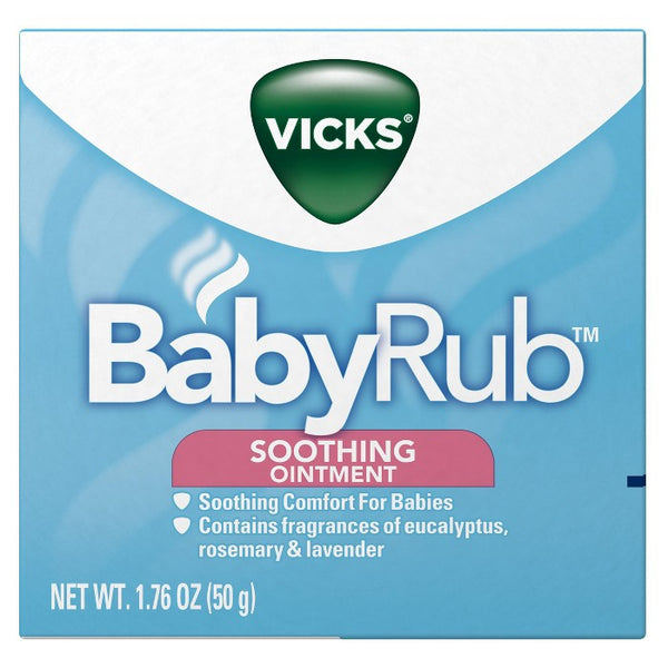 Vicks BabyRub Chest Rub Soothing Ointment - 1.76oz
