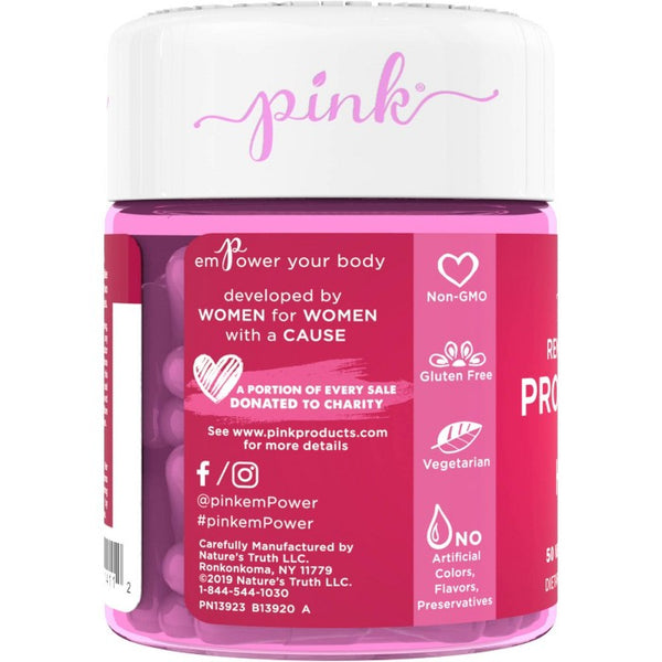 Pink Renew You Probiotic for Her Veggie Capsules - 50ct