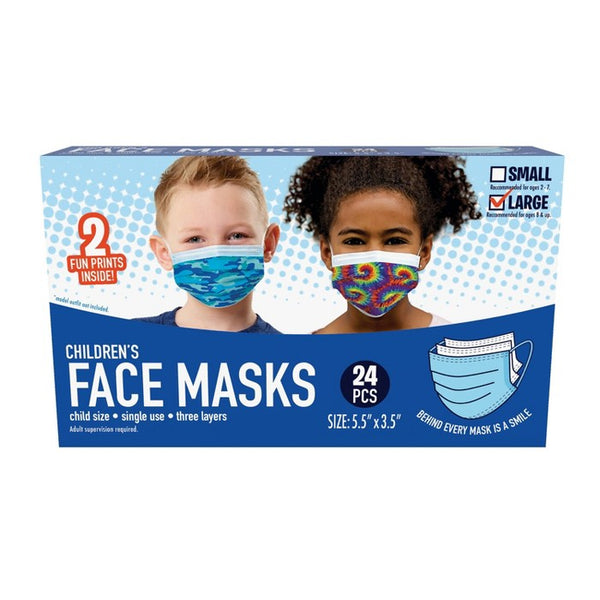 Just Play Kid's Face Mask - L - 24pc