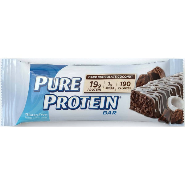Pure Protein Bar - Dark Chocolate Coconut - 12ct
