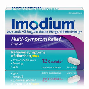 Imodium Multi-Symptom Relief Caplets - 12ct