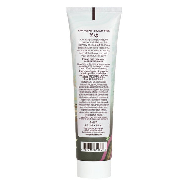 Pacifica Rosemary Detox Scalp Scrub - 4 fl oz