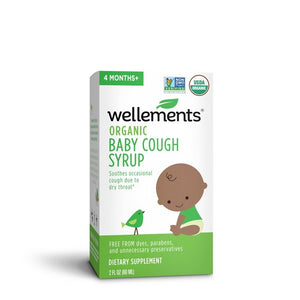 Wellements Organic Baby Cough & Mucus Syrup - 2 fl oz