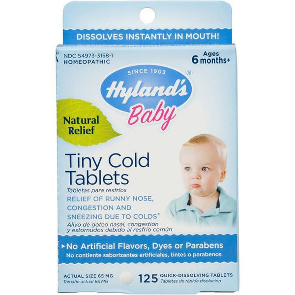 Hyland's Baby Tiny Dissolve Tablets - 125ct