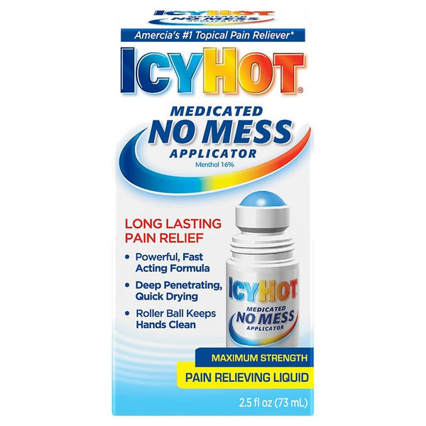 IcyHot with No Mess Applicator - 2.5oz