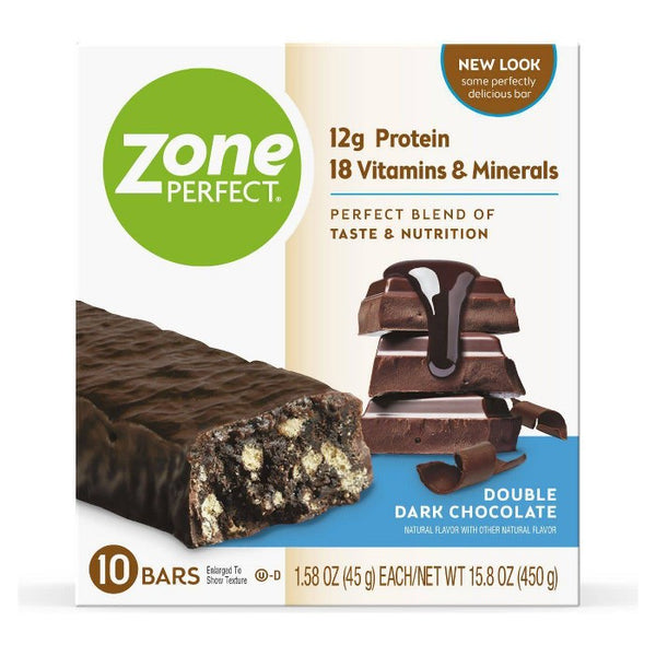 ZonePerfect Protein Bar Double Dark Chocolate - 10 ct/15.8 oz