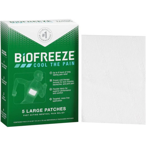 Biofreeze Pain Relieving Patch - 5pk