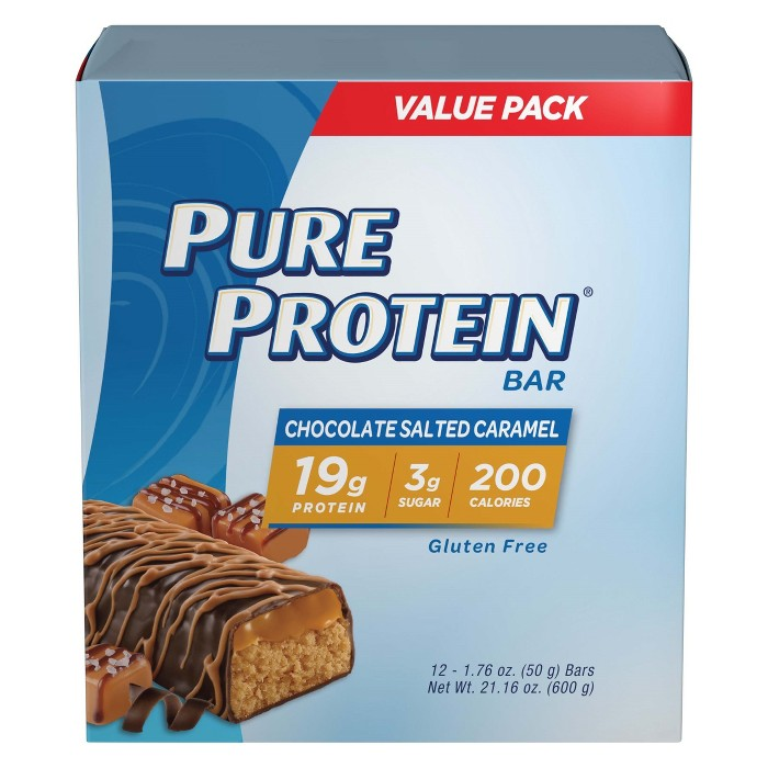 Pure Protein Bar - Chocolate Salted Caramel - 12ct