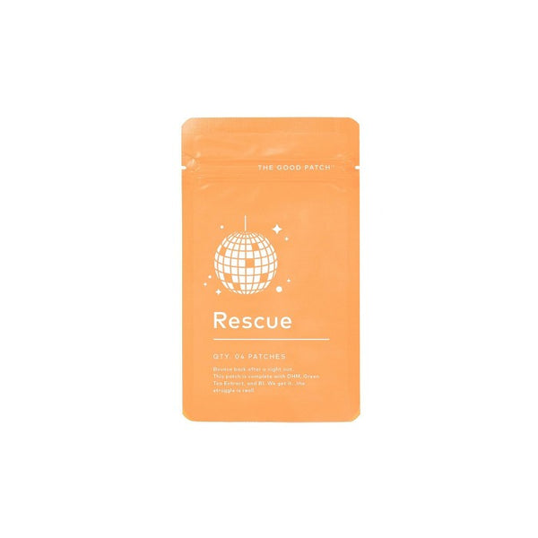 The Good Patch Plant Based Rescue Patch with Vitamin B and Green Tea Extract - 4ct