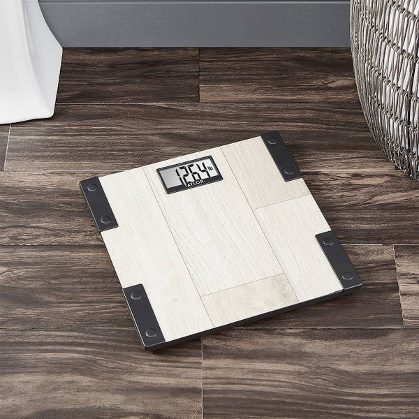 Digital Scale with Modern Farmhouse Design Natural - Taylor