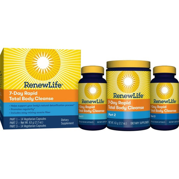 Renew Life Rapid Total Body Cleanse 7-Day Program