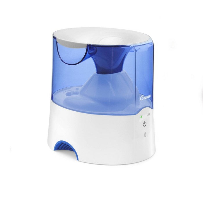 Crane Warm Mist Humidifier - Blue - 0.5gal